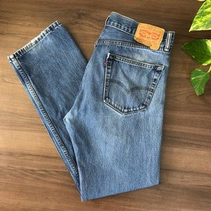 Levi's 505 Red Tag Straight Leg Jeans